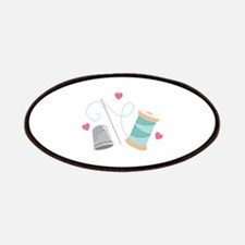 Heart Sewing supplies Patches