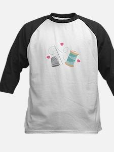 Heart Sewing supplies Baseball Jersey