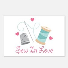 Sew In Love Postcards (Package of 8)