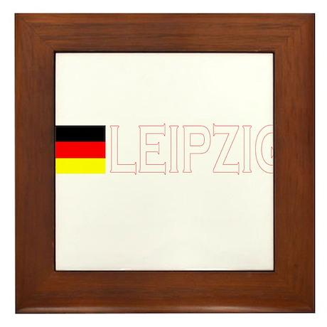 Leipzig, Germany Framed Tile