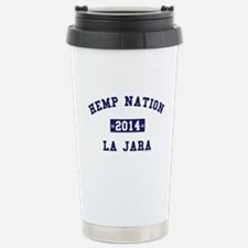 Hemp Nation - La Jara - EST - Navy Travel Mug