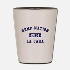 Hemp Nation - La Jara - EST - Navy Shot Glass