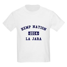 Hemp Nation - La Jara - EST - Navy T-Shirt