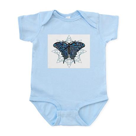 December Birthstone Butterfly Infant Bodysuit