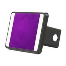 Purple textured stripes Hitch Cover