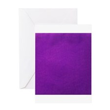 Purple textured stripes Greeting Cards