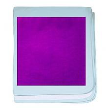 Purple textured stripes baby blanket