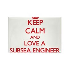 Keep Calm and Love a Subsea Engineer Magnets