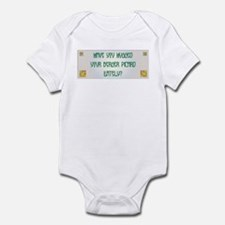 Hugged Berger Infant Bodysuit