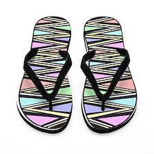 Beach Zebra Flip Flops