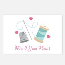Mend Your Heart Postcards (Package of 8)