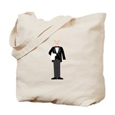 Male Server Tote Bag