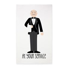 At Your Service 3'x5' Area Rug