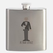 At Your Service Flask