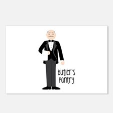 Buttlers Pantry Postcards (Package of 8)