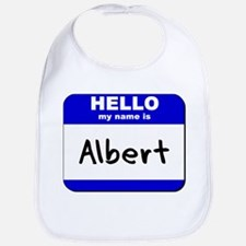 hello my name is albert  Bib