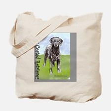 Curly Coated Retriever Stand Tote Bag