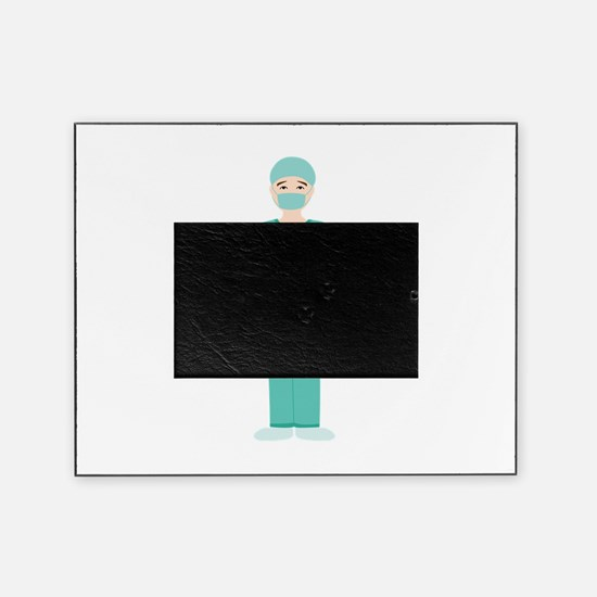 Male Surgeon Picture Frame