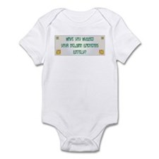 Hugged Laekenois Infant Bodysuit