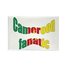 Cameroon fanatic Rectangle Magnet