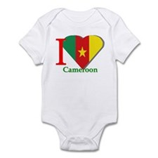 I love Cameroon Infant Bodysuit