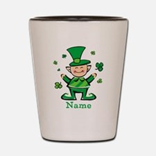 Personalized Wee Leprechaun Shot Glass