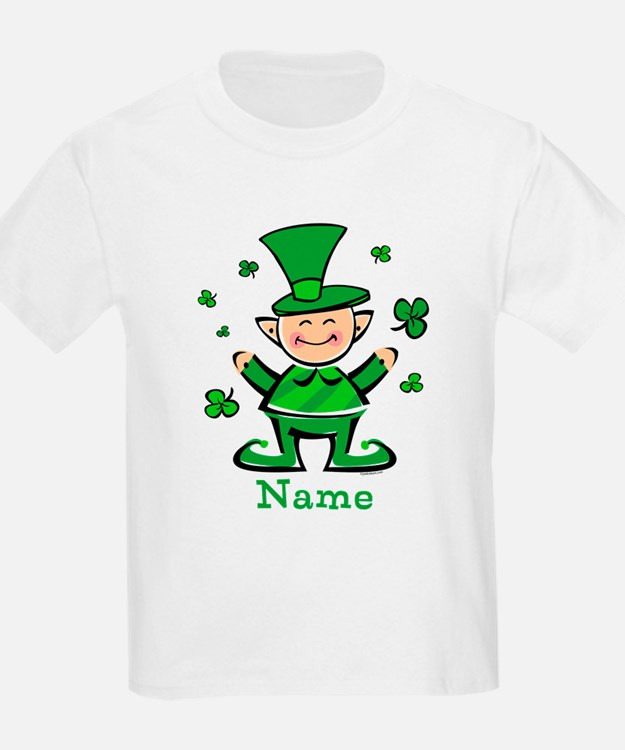 Personalized Wee Leprechaun T-Shirt