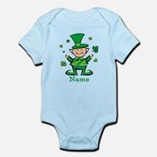 Personalized Wee Leprechaun Infant Bodysuit