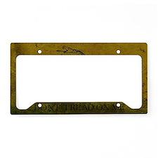 Gadsden4 License Plate Holder