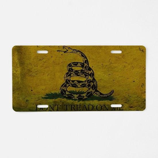 Gadsden4 Aluminum License Plate