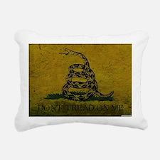 Gadsden4 Rectangular Canvas Pillow