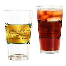Iristh Toast - Friendship Drinking Glass