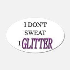 Funny Glitter Wall Decal