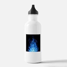 Blue Flames Water Bottle