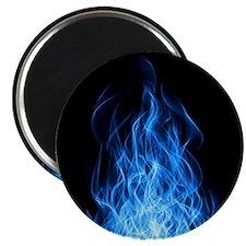 Blue Flames Magnet