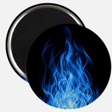 Blue Flames Magnet