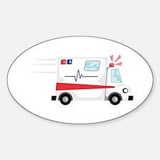 Fast Ambulance Decal