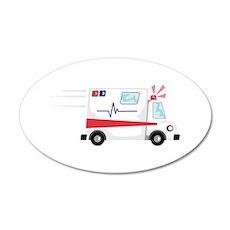 Fast Ambulance Wall Decal