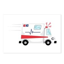 Fast Ambulance Postcards (Package of 8)