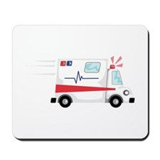 Fast Ambulance Mousepad