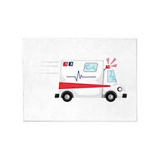 Fast Ambulance 5'x7'Area Rug
