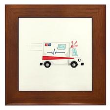 Fast Ambulance Framed Tile