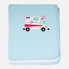Fast Ambulance baby blanket