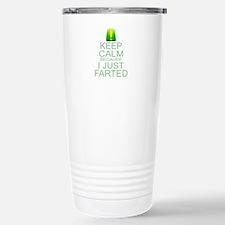 Keep Calm I Farted Travel Mug