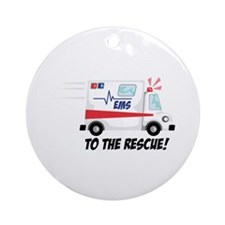 To The Rescue! Ornament (Round)