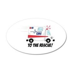 To The Rescue! Wall Decal