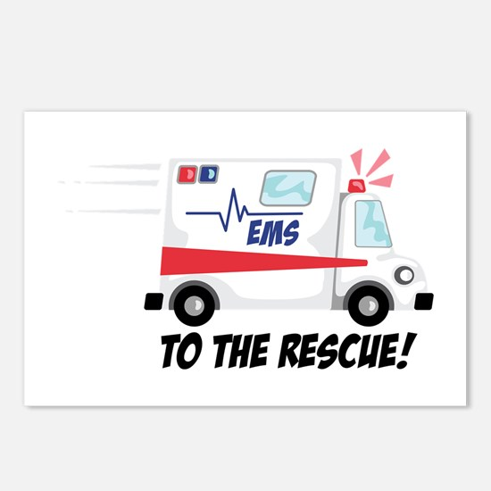 To The Rescue! Postcards (Package of 8)