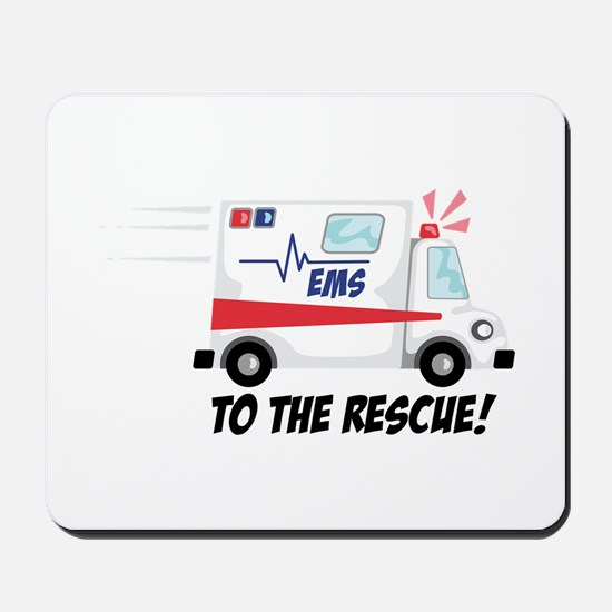 To The Rescue! Mousepad