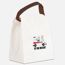 To The Rescue! Canvas Lunch Bag