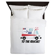 To The Rescue! Queen Duvet